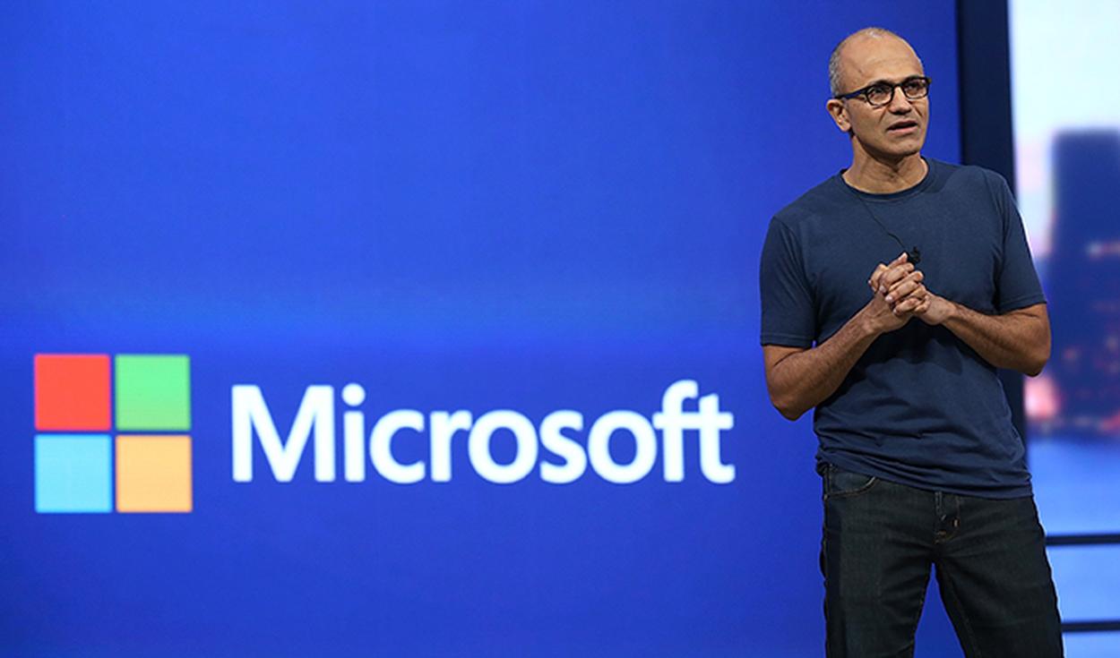 CEO de Microsoft en anuncio de apps